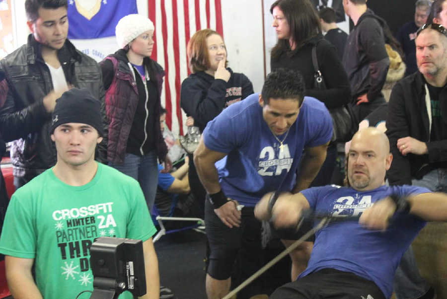 Ron Lohse CrossFit Rowing