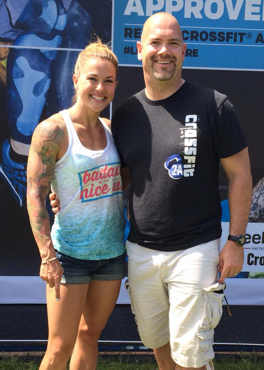 Ron Lohse and Christmas Abbott